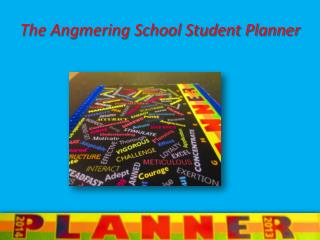 The Angmering School Student Planner