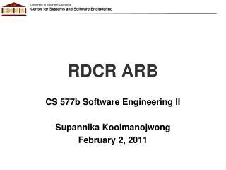 RDCR ARB
