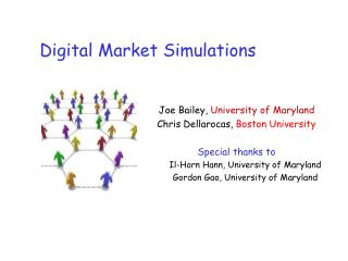 Digital Market Simulations
