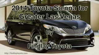 ppt 41972 2014 Toyota Sienna for Greater Las Vegas