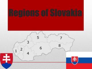 Regions of  Slovakia