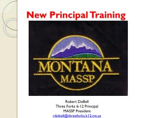New Principal Training