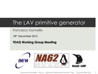 The LAV primitive generator