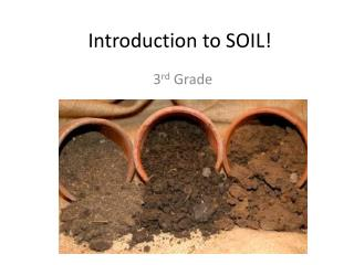 Introduction to SOIL!