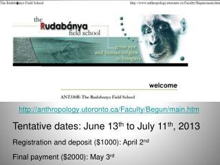 anthropology.utoronto/Faculty/Begun/main.htm