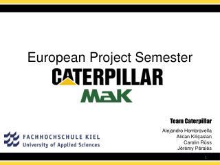 European Project Semester