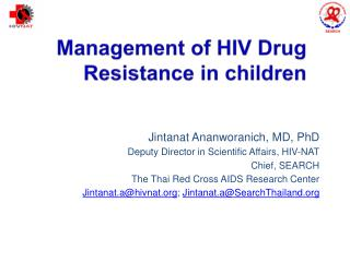 Management of HIV Drug Resistance in children
