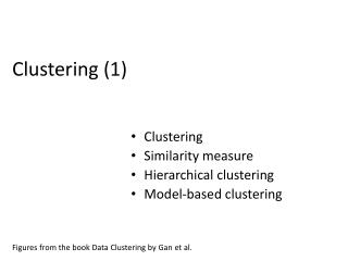 Clustering  (1)