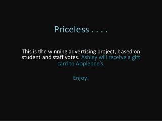 Priceless . . . .