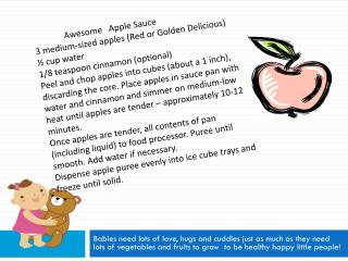 Awesome   Apple  Sauce