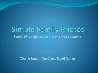 Simple Family Photos