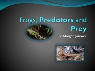 Frogs,  Predators  and  Prey