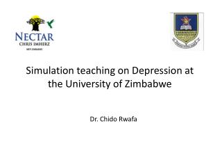 Simulation teaching on Depression at the University of Zimbabwe