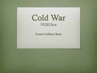 Cold War VUS13c-e