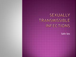Sexually Transmissible Infections