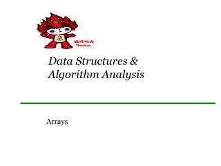 Data  Structures &  Algorithm Analysis