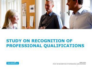 Study  on  recognition  of Professional  Qualifications