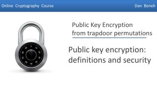 Public key encryption: definitions and security