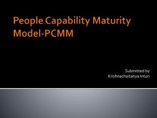 People Capability Maturity Model-PCMM