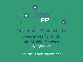 Presumptive  Diagnosis and  Awareness  for STDs  via Mobile Devices