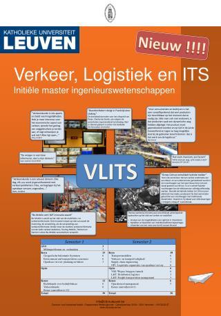 Verkeer, Logistiek en ITS  Initiële master ingenieurswetenschappen