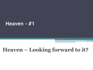 Heaven - #1