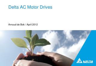 Delta AC Motor Drives