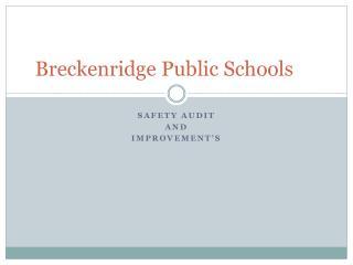 Breckenridge Public Schools