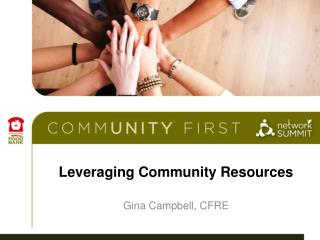 Leveraging Community Resources