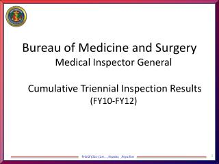 Inspection Programs with 0 RFIs (FY10-FY12)