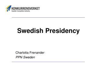 Swedish Presidency