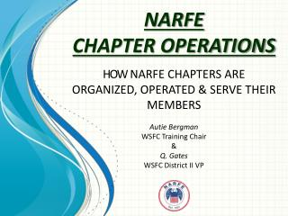 NARFE CHAPTER OPERATIONS