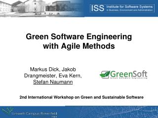 Green Software  Engineering with  Agile Methods