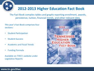 2012-2013 Higher Education Fact Book