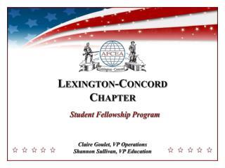 Claire  Goulet , VP Operations Shannon Sullivan, VP Education