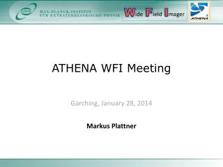 ATHENA WFI Meeting