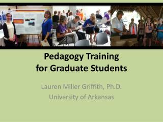 Pedagogy Training  for Graduate Students