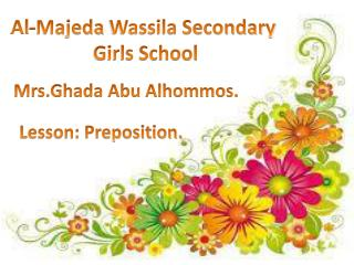Al- Majeda  Wassila Secondary  Girls School