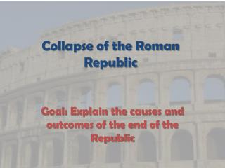 Collapse of the Roman Republic