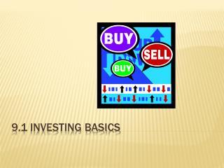 9.1 Investing basics
