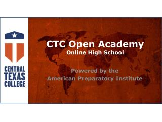 CTC Open Academy Online High School
