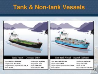 Tank & Non-tank Vessels