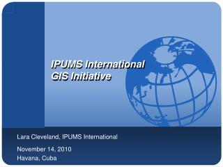 IPUMS International GIS Initiative