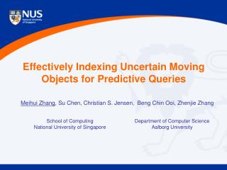 Effectively Indexing Uncertain Moving Objects for Predictive Queries