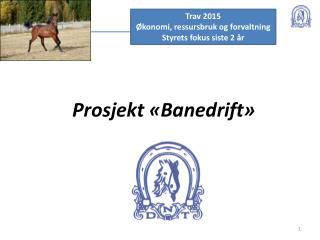 Prosjekt «Banedrift»