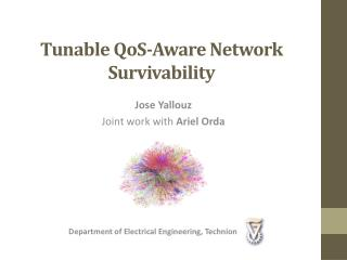 Tunable  QoS -Aware Network Survivability