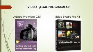 VİDEO İŞLEME PROGRAMLARI