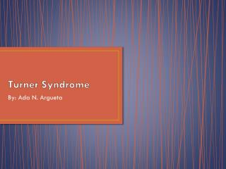 Turner Syndrome