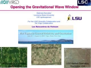 Opening the Gravitational Wave Window