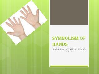 Symbolism of hands